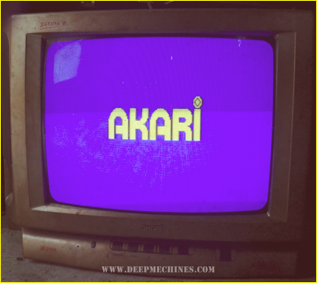 Gambar TV AKARI 14-Inc (Sakura Z) dan Perbaikan Kerusakan Mati Total