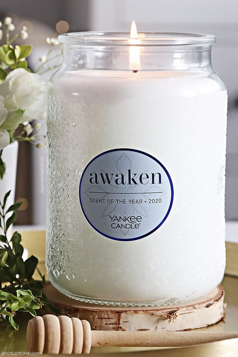 scent of the year 2020 yankee candle awaken