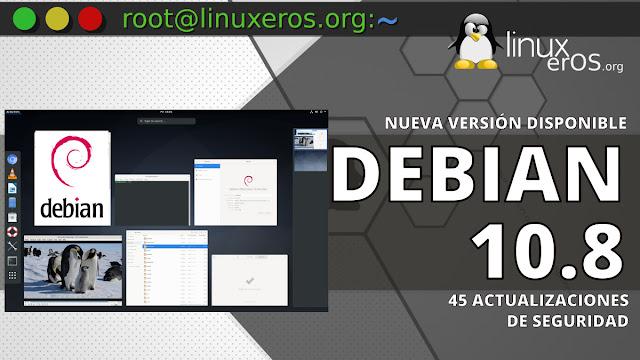 """Debian 10.8 """"Buster"""", con 45 actualizaciones de seguridad"""