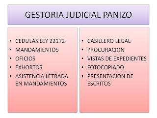 gestoría judicial en mar del plata