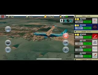 Jogo de simulação de avião para Android Com gráficos incríveis