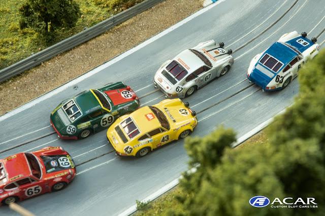 h0 Slot Cars Custom Porsche 911 24h Le Mans 1970