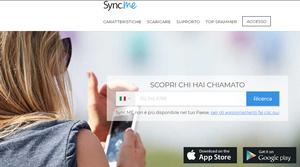 Sync.Me servizio online per individuare numeri fissi e da cellulare