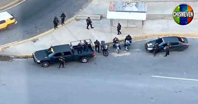 Funcionarios del Régimen amanecen rodeando la casa de Juan Guaidó para apresarlo