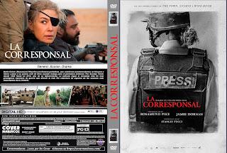 LA CORRESPONSAL – A PRIVATE WAR – 2018 – [COVER – DVD]
