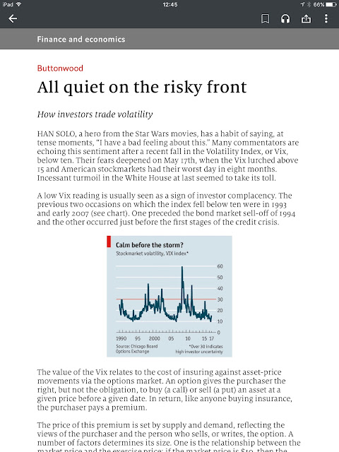 Screen shot from The Economist 4.0.8