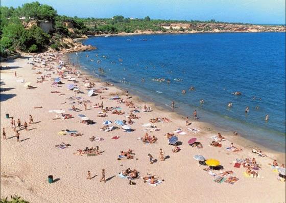 Tarragona, beaches in Costa Dourada