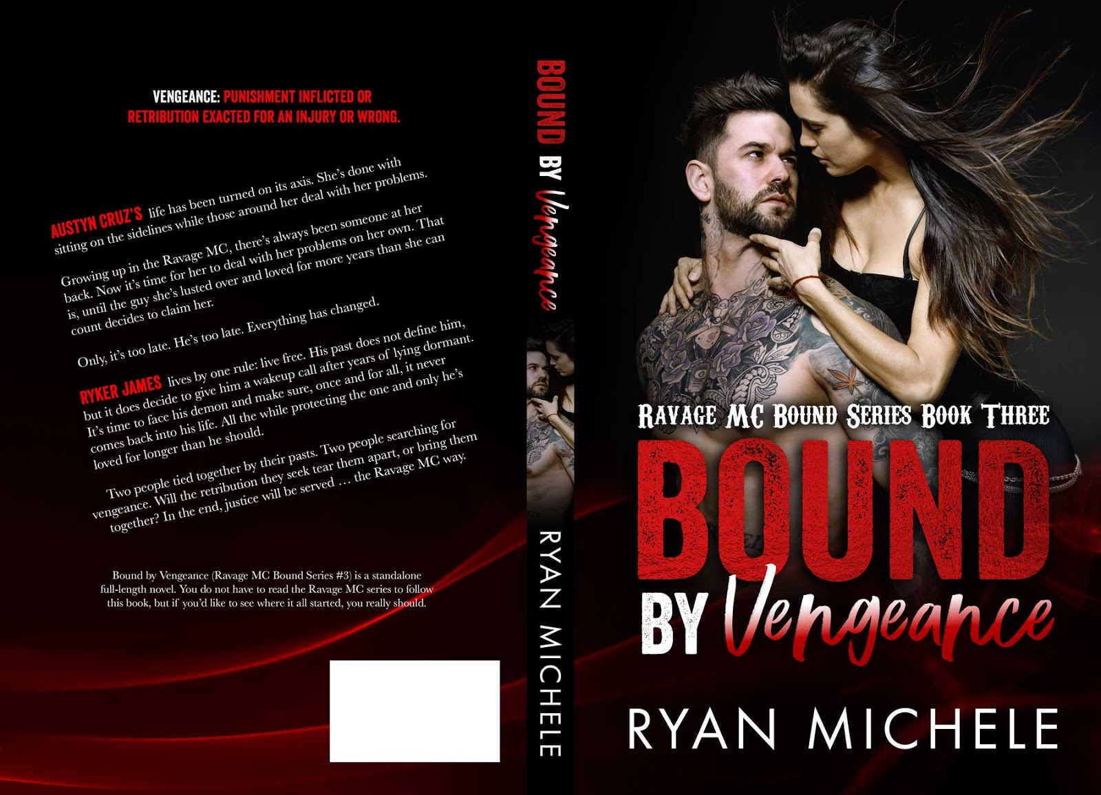 Cover reveal bound by vengeance author ryan michele hosted by fandeluxe Choice Image