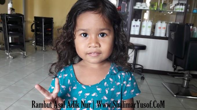 Diari Adik Nur - Kali Pertama Adik Nur Potong Rambut