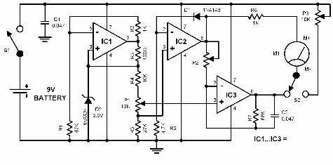 thermometer-circuit-diagrams