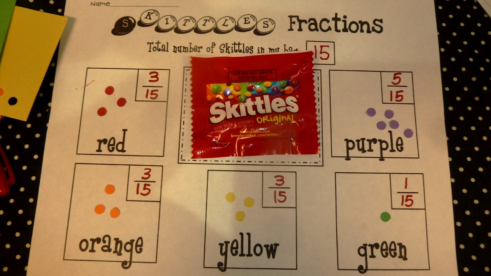 Heather S Show And Tell Fractions