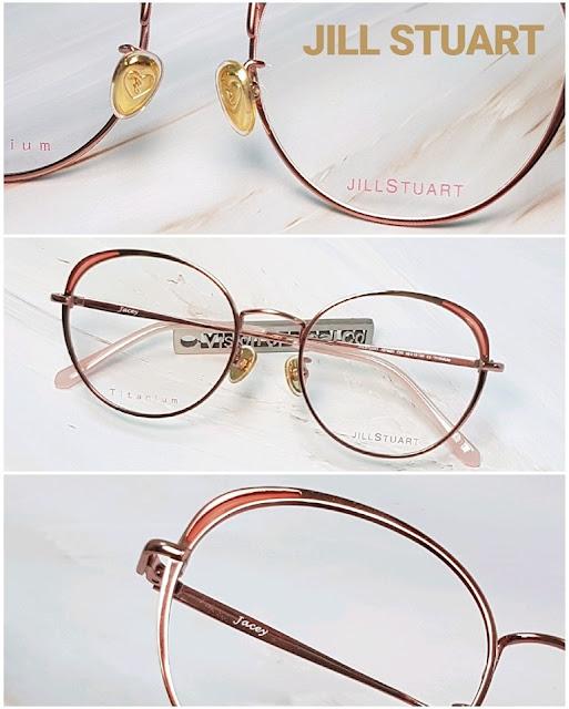 JILL STUART EYES Titanium frame for lady 眼鏡