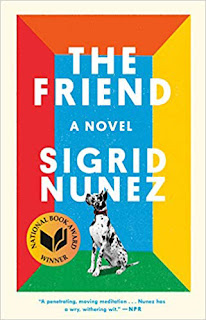 The Friend book cover. Summer Reading 2019