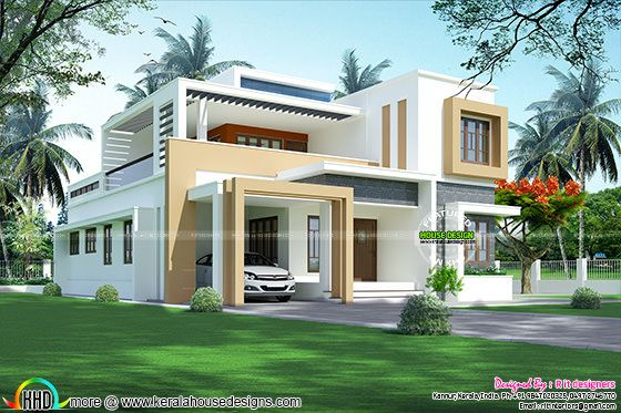 3108 square feet modern home
