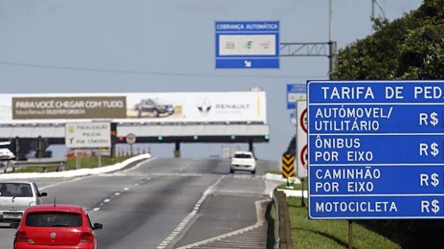 Preço dos pedágios fica mais barato a partir desta terça-feira nas rodovias do Paraná