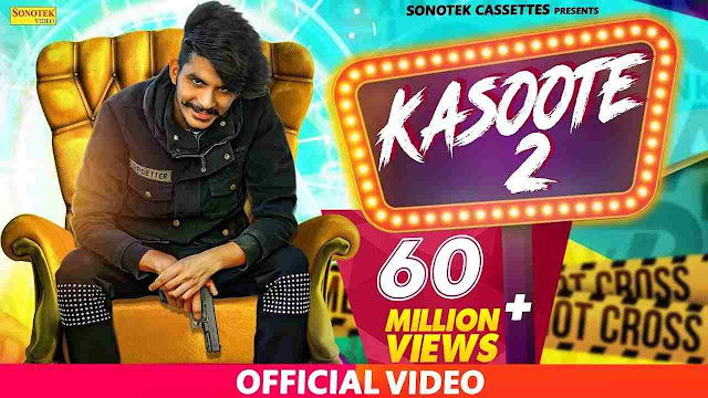 Kasoote 2 Lyrics in HINDI & English
