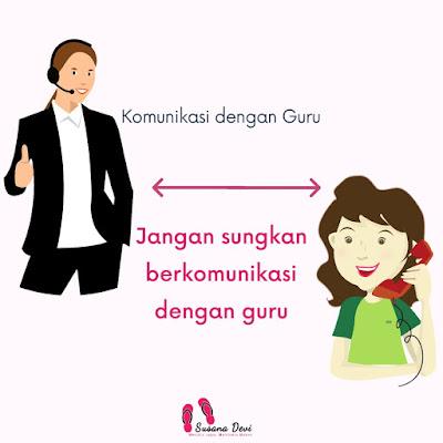 Dampingi Anak Belajar di Rumah dengan Berkomunikasi dengan Guru