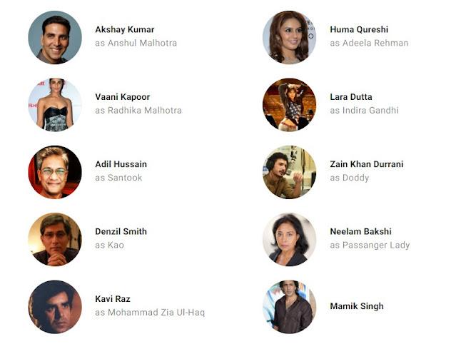 Bell Bottom (2021) - Star Cast And Crew List