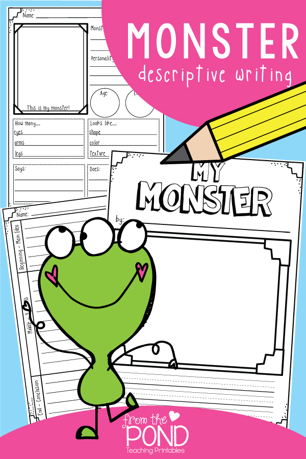 Monster Writing Pages