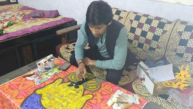 emerging painter rahul kumawat