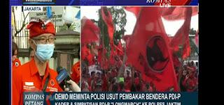 Kompas TV Kena Semprot, Aksi PDI Diliput tapi Demo Tolak RUU HIP Malah Tidak