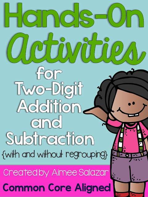 https://www.teacherspayteachers.com/Product/Hands-On-Two-Digit-Addition-and-Subtraction-Common-Core-Aligned-222703