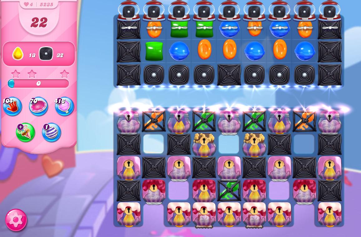Candy Crush Saga level 5235