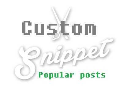 Tùy chỉnh số ký tự đoạn trích dẫn bài đăng phổ biến-custom snippet popular posts
