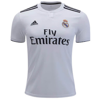 Real Madrid Home 18/19