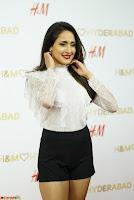 Pragya Jaiswal in lovely Black Mini Skirt and White Transparent Shirt ~  Exclusive 055.JPG
