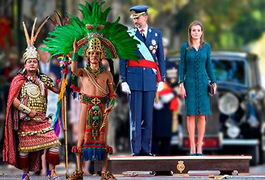 el villano arrinconado, humor, chistes, reir, satira, Día de la Hispanidad