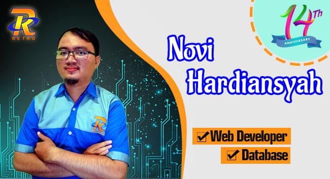 Instruktur Web Programing dan Database - Novi  Hardiansyah - Retro Komputer