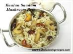 Mushroom RiceKalan Saadam