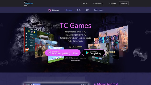 تحميل برنامج tc games