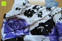 Brust: mixinni® Damen A-Linie Kurz Rockabilly Kleid 1950er Vintage Faltenrock Cocktail Partykleid Sommerkleid