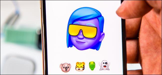 مقدمة Memoji على iPhone Xs Max.