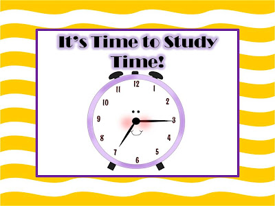 Fern Smith's It's That Time of Year - Time to Study Time!