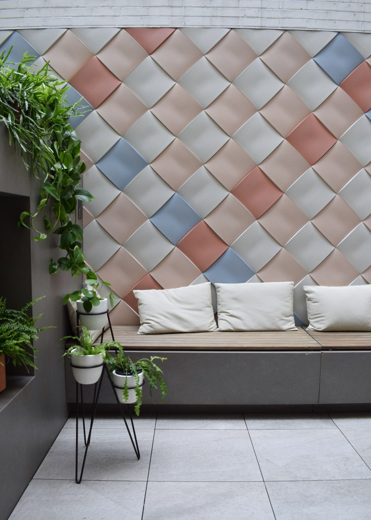 Copper Blush, tiles, colour trend, hello peagreen, interiors blogger, clerkenwell design week