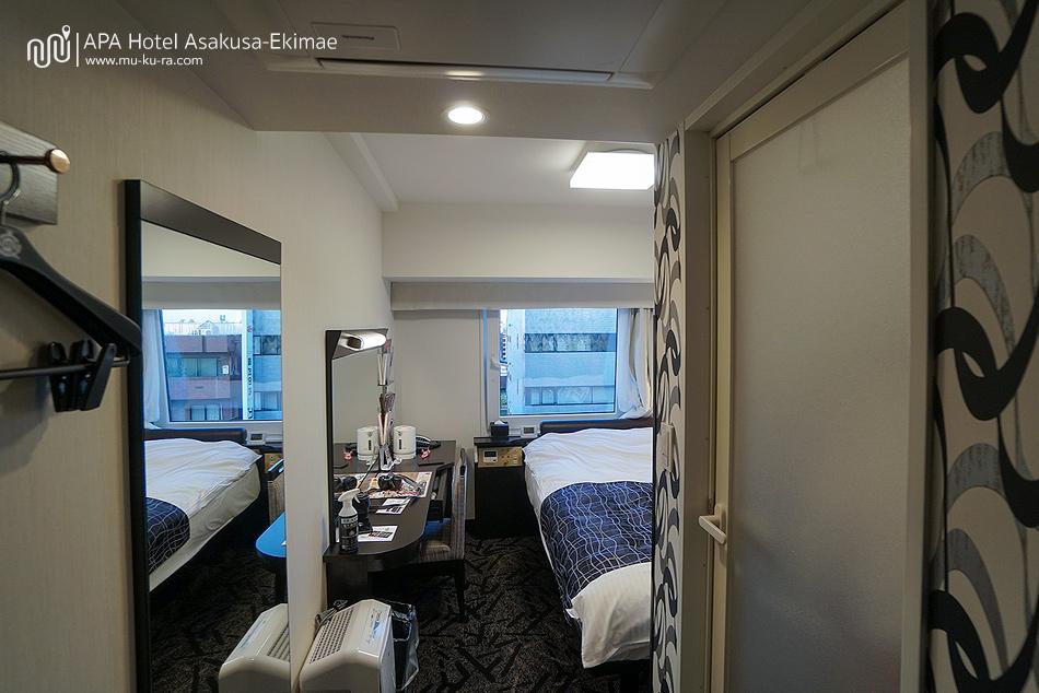 รีวิว APA Hotel Asakusa-Ekimae ที่พักราคาเบาๆใกล้วัดเซ็นโซจิ (Sensoji)