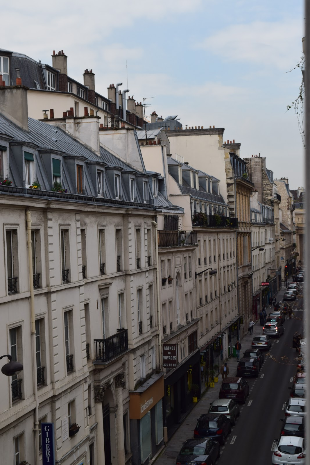 Paris buildings Latin Quarter