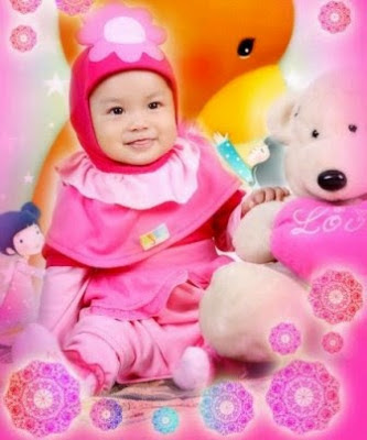 Model Baju Bayi Perempuan cerah