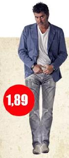 Cuánto mide Juan Carlos Valdivia (Pollo)