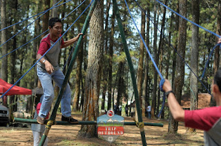 Leadership Games - Outbound Lembang Bandung