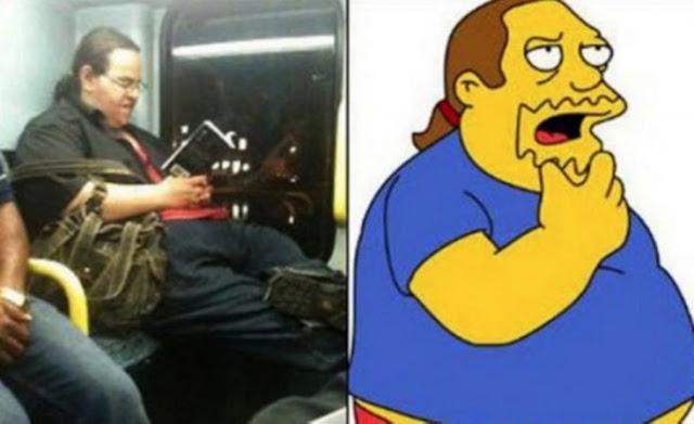 Ele ficou idêntico