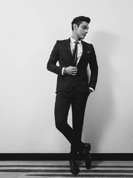 14. Male Poses Pockets Photo Shoot