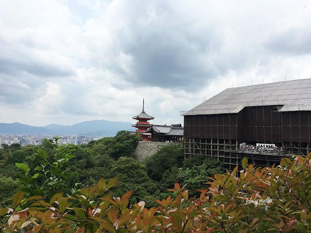 Vista del Kiyomizudera