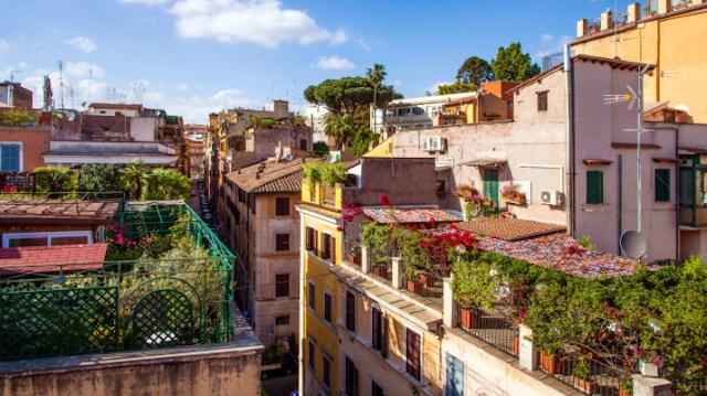 Monti neighbourhood Rome