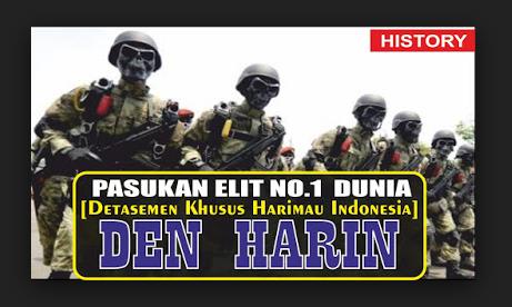 Detasemen Khusus Harimau Indonesia, Pasukan Elit Paling MISTERIUS di Indonesia