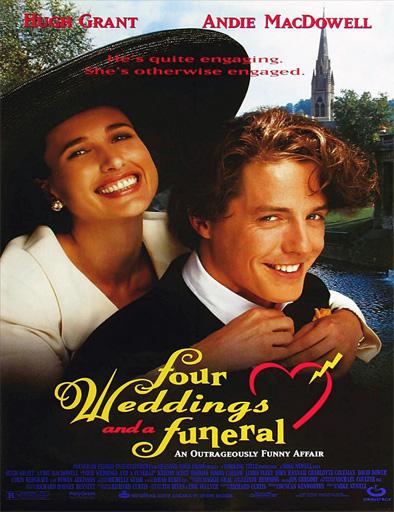 Ver Cuatro bodas y un funeral (1994) online