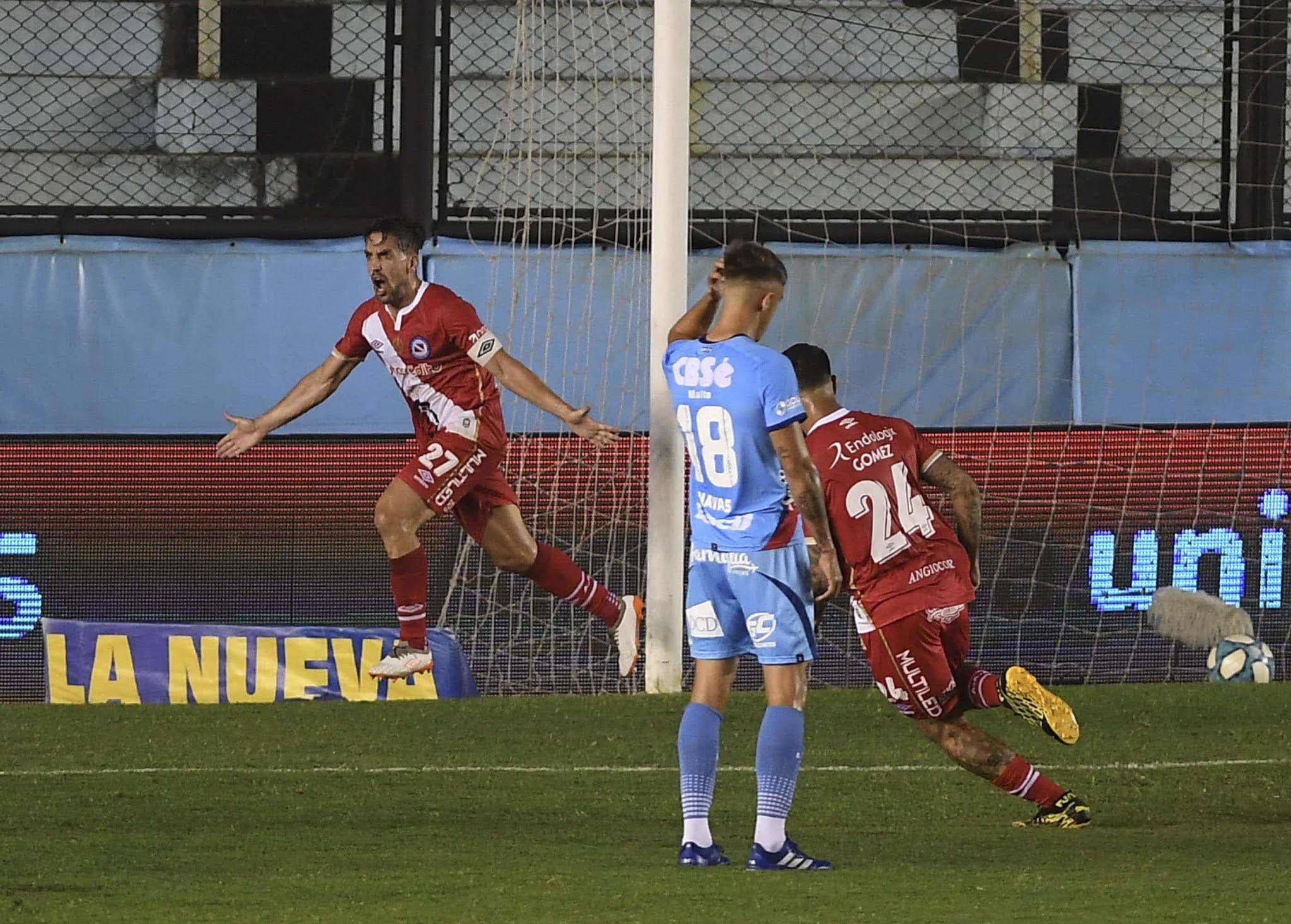 Argentinos fue oportuno y superó a Arsenal en Sarandí por la Copa Diego Maradona